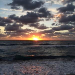 GoldilocksBlog.com #Sunrise #IntoTheBlue #IAmHere #Yoga #Meditation