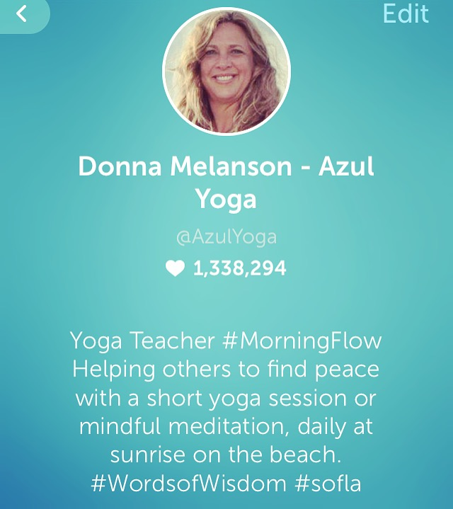 Periscope with Azul Yoga