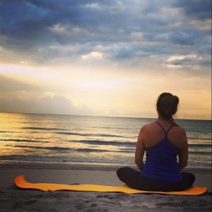 Peace - Azul Yoga - Goldilocks Blog - Florida Beach Sunrise